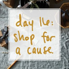 A Dozen Plus Ways to Support a Good Cause While Gift-Shopping