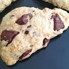 Oatmeal Chocolate Chunk Scones