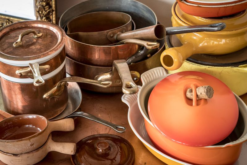 Beloved cookware gets constant use.