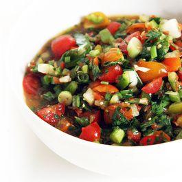 Summer Tomatillo Salsa