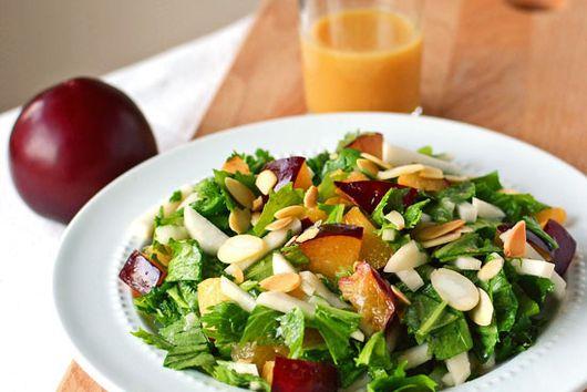 Chopped Plum Salad
