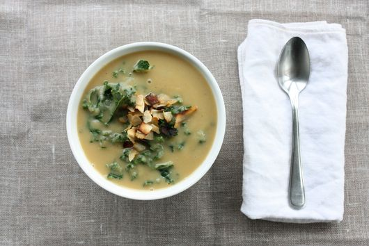 Easy Root Vegetable and Kale Soup