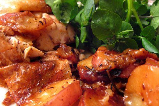 Skillet-Roast chicken