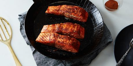 Helloooo, seared salmon