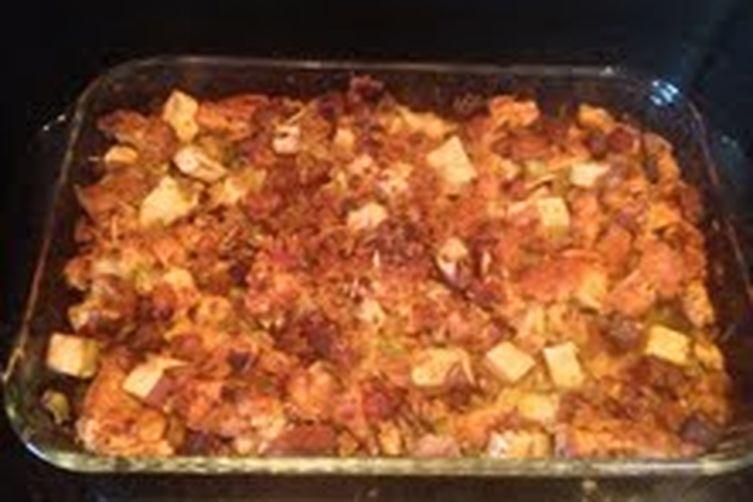 Chorizo Sweet Potato Stuffing