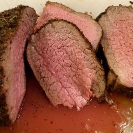 Coffee Crusted Roast Beef