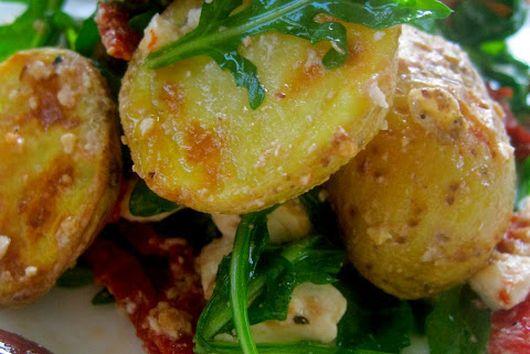Spanakopita Inspired Potato Salad