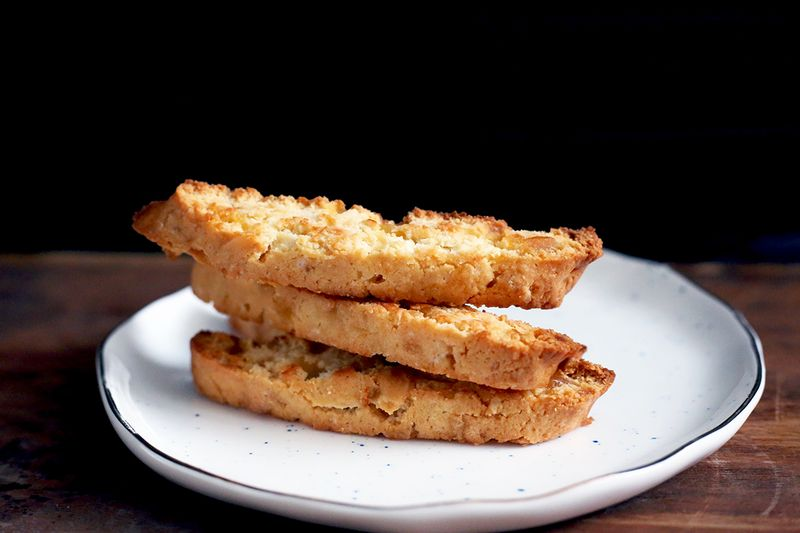 Ginger Almond Biscotti