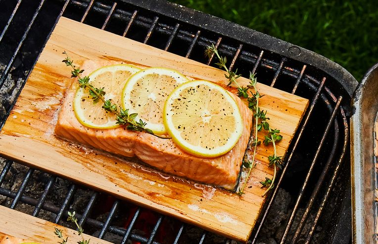 How to Cook on a Wood Plank