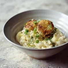 SCALLOP & KING PRAWN RISOTTO