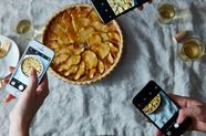 (Almost) Nothing in Food Media is New