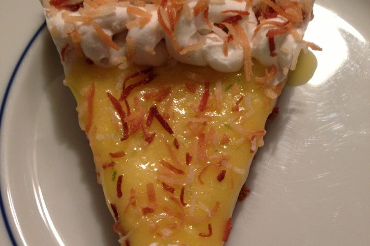 Lime in De Coconut Tart