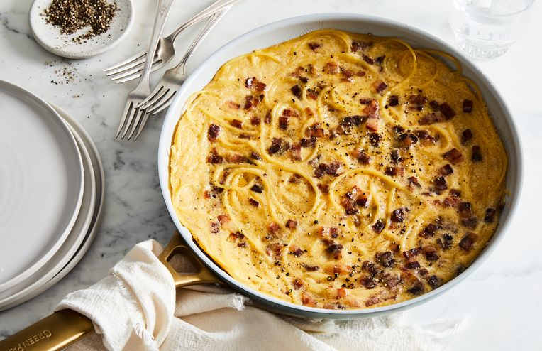 Spaghetti Carbonara Is Even Better As a Frittata