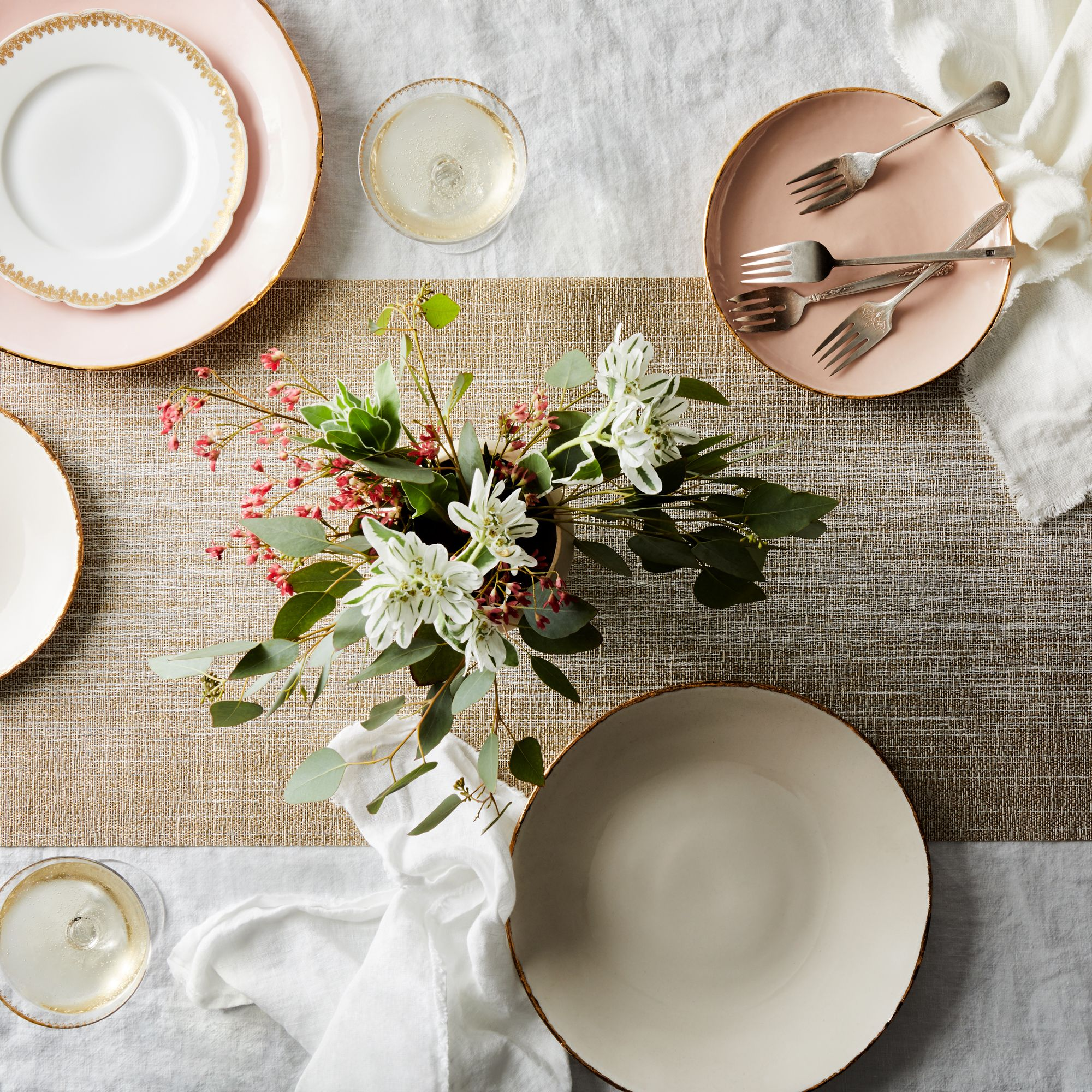 Chilewich Gold Ombre Table Runner On Food52