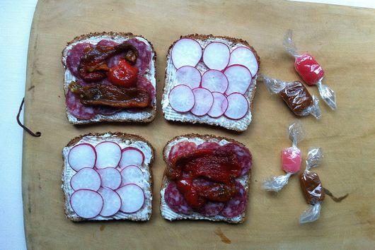 A Pretty-in-Pink Sandwich