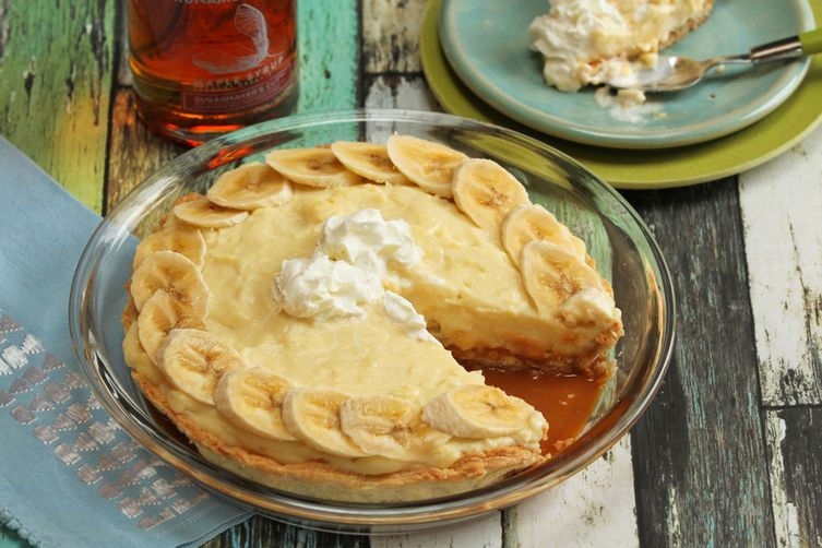 Maple Banana Cream Pie