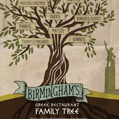 A Dive into Birmingham's Greek Restaurant Family Tree by Eric Velasco