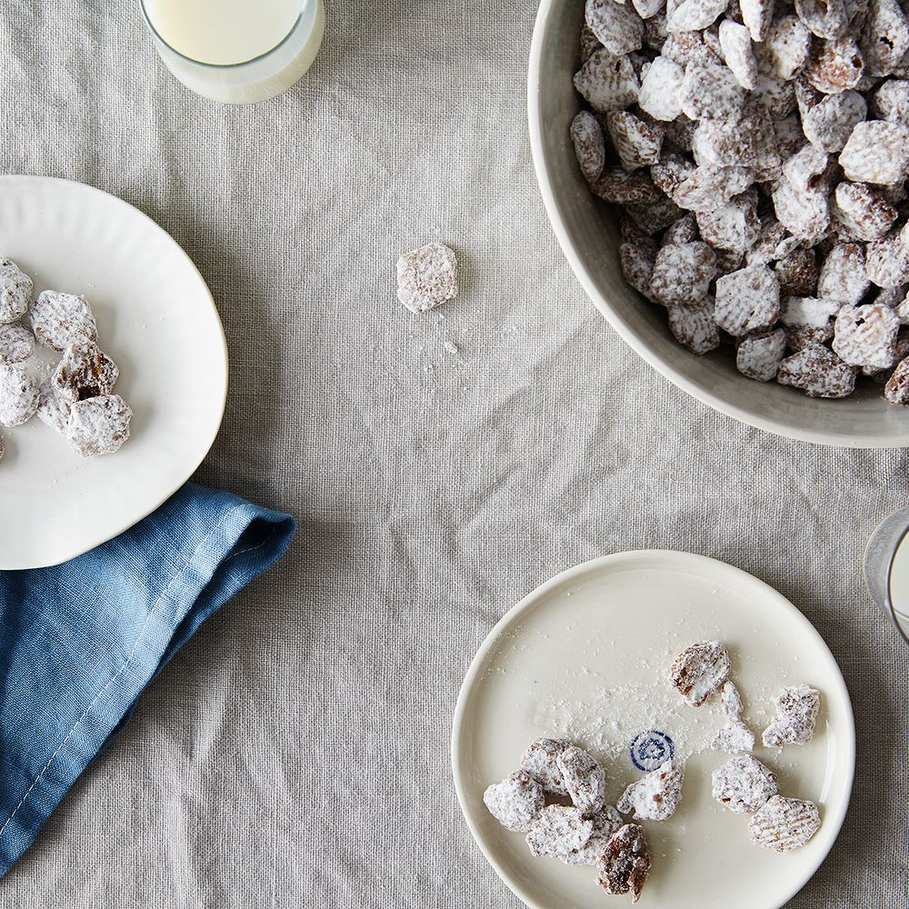 Salted Dark Chocolate Puppy Chow Recipe On Food52