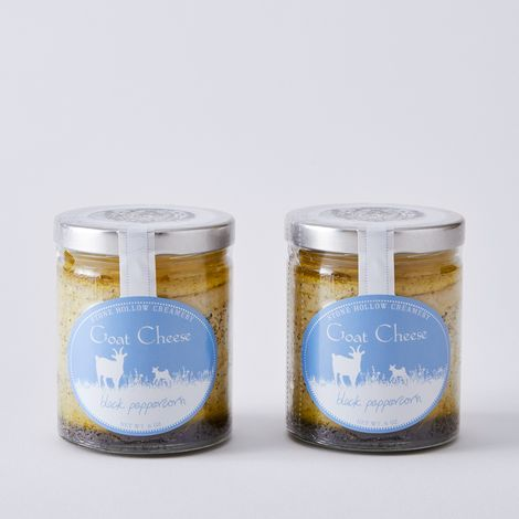 Artisanal Marinated Goat Cheese (Set of 2)