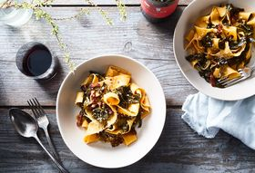 A Soulful, Southern Riff on Tuscan Pappardelle