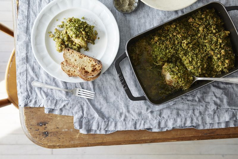 Annabel Langbein's Chicken and Leek Gratin