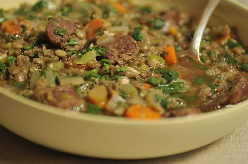 Lentil and Sausage Soup for a Cold Winter's Night Recipe ...