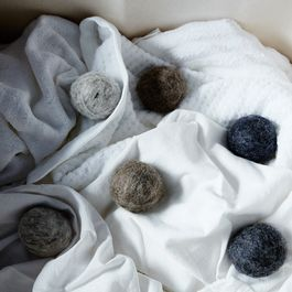 Grey Wool Dryer Balls (Set of 6)