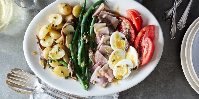 The summery French salad best eaten with your hands