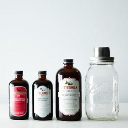 Cocktail Syrups & Shaker Gift Set