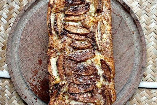 Apple Cinnamon Cream Loaf