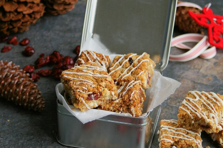 Cranberry & White Chocolate Crunchies