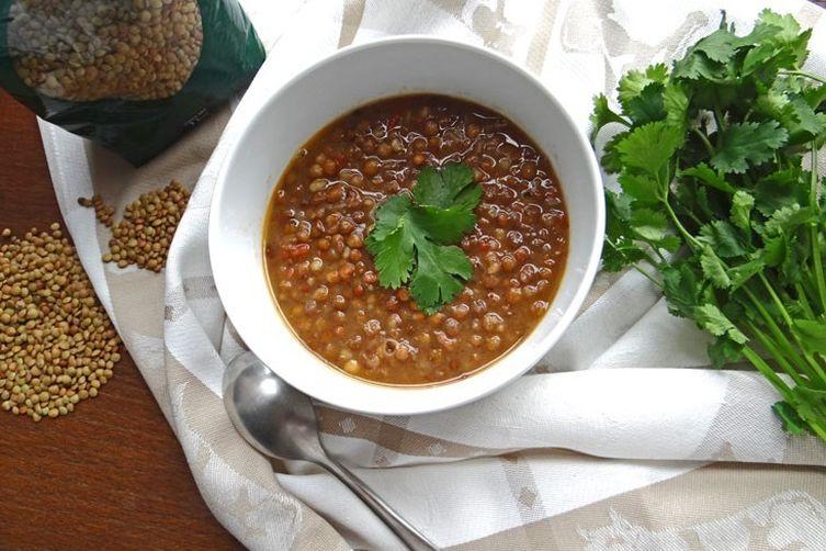 Simple lentil soup