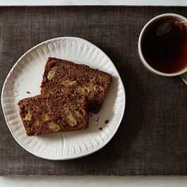 Red Rooibos and Gala Apple Bread