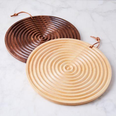 Round Grain Bread Board
