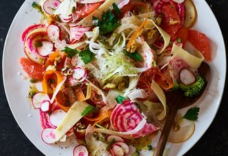 Crispy-Crunchy Shaved Salads for a Different Kind of Cold Snap