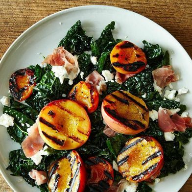 Grilled Peach and Apricot Salad