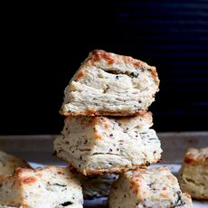 Savory, Secret-Ingredient Mozzarella Biscuits
