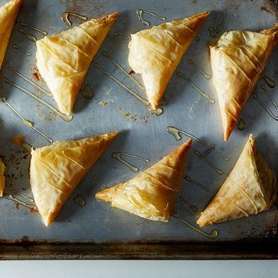 Greek Style Cheese Pies (Tyropita)