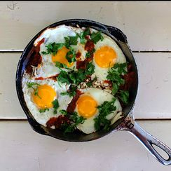 Smoky Red Chilaquiles