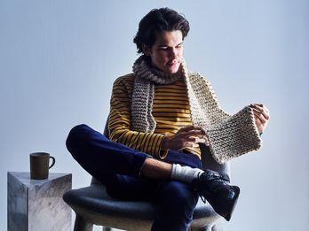 I'm Knitting My Way to My Happy Place
