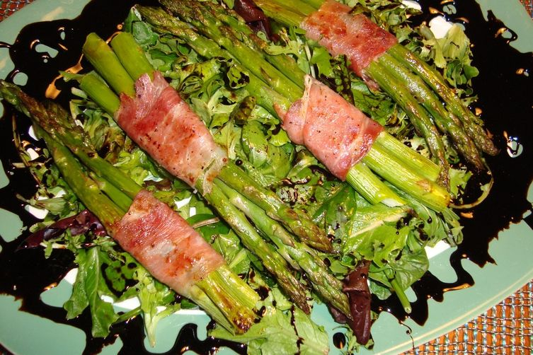 Jackson Pollock Asparagus