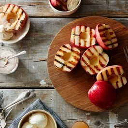 Give Your Apples Grill Marks This Summer