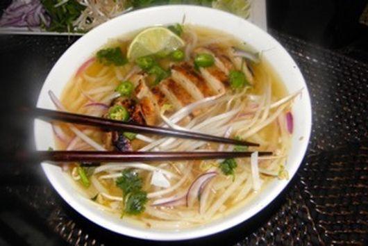 Vietnamese Chicken Noodle Soup—Pho Ga