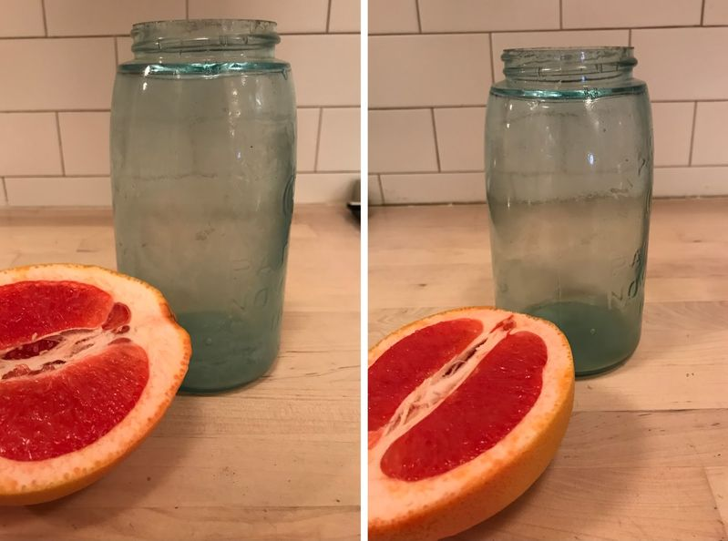 The citrus hack: grapefruit edition.