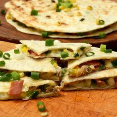 Clambake Quesadillas