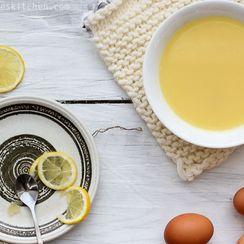 """Cypriot Chicken-Lemon-Egg Soup (""""Avgolemono"""")"""