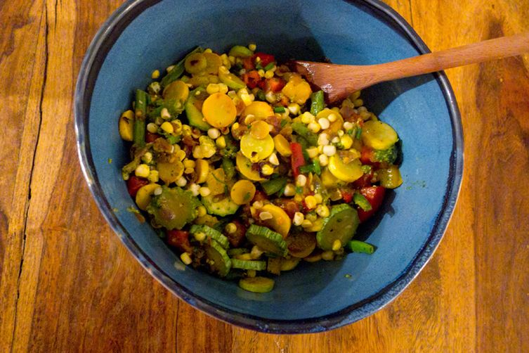 Summer's Sweet Heat Salad