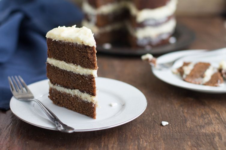 Chocolate Lemon Naked Cake