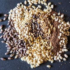 A Range of Grains -- and What to Do with Them