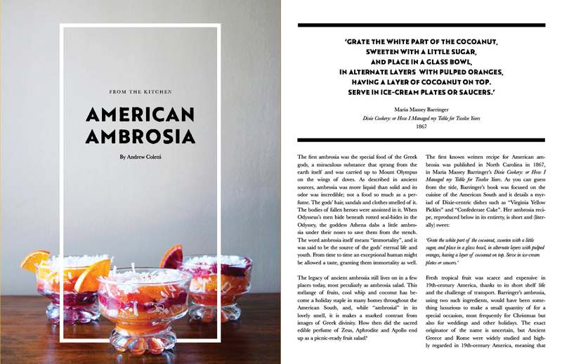 e318ba34 9669 4a64 9c27 605411eb1608  American Ambrosia The New, One of a Kind Food Magazine That Needs Your Help